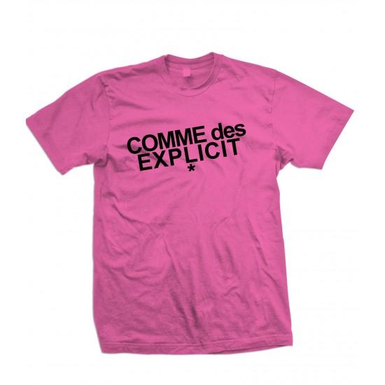 Comme Des Explicit T Shirt