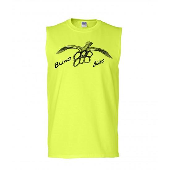 Bling Bling Seagull Sleeveless T-Shirt