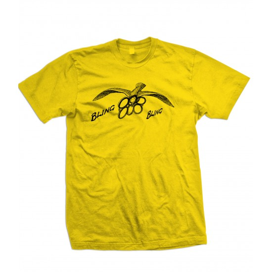 Bling Bling Seagull Youth T Shirt