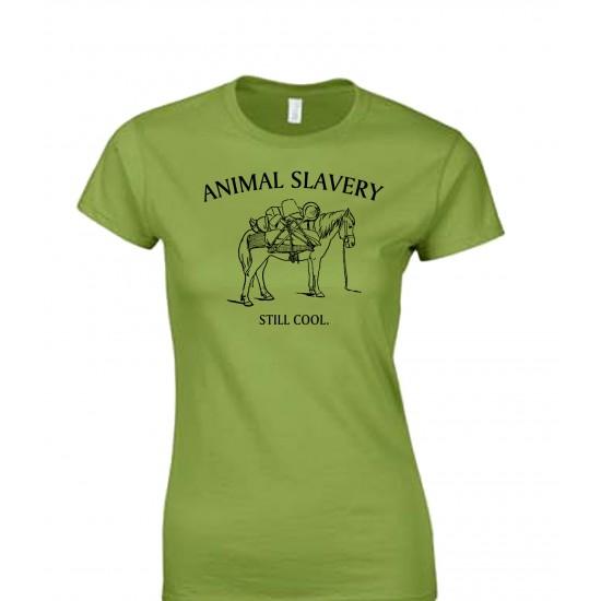 Animal Slavery Is Still Cool Juniors T Shirt