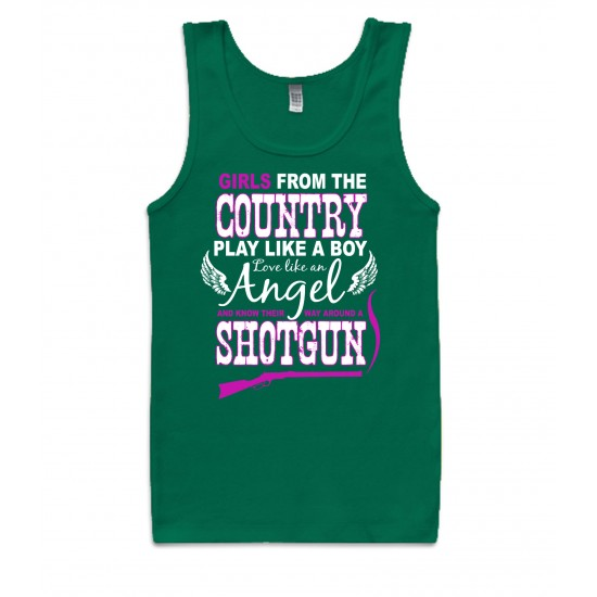 Girls From the Country Tank Top