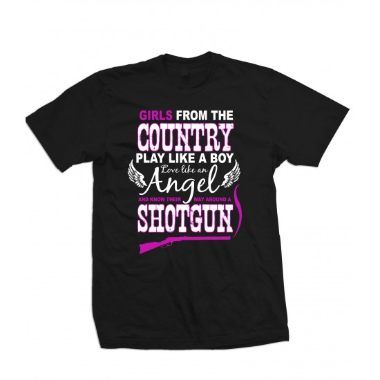 Girls From the Country T Shirt