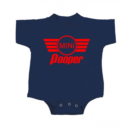 Mini Pooper Onesie