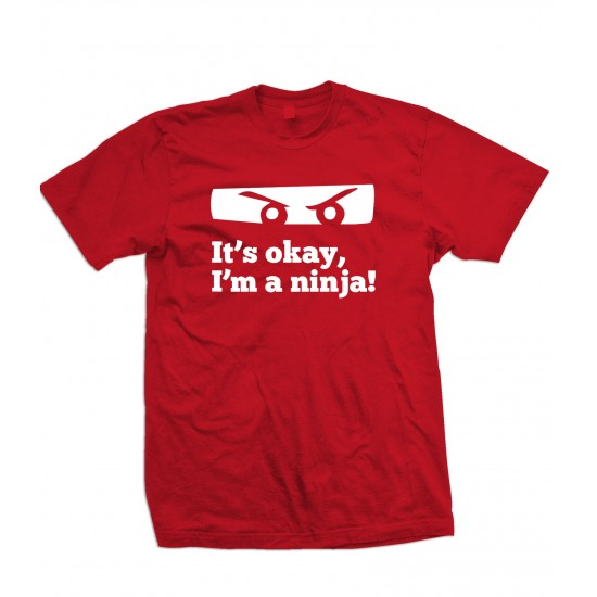 Don't worry, I'm a Ninja Youth T Shirt