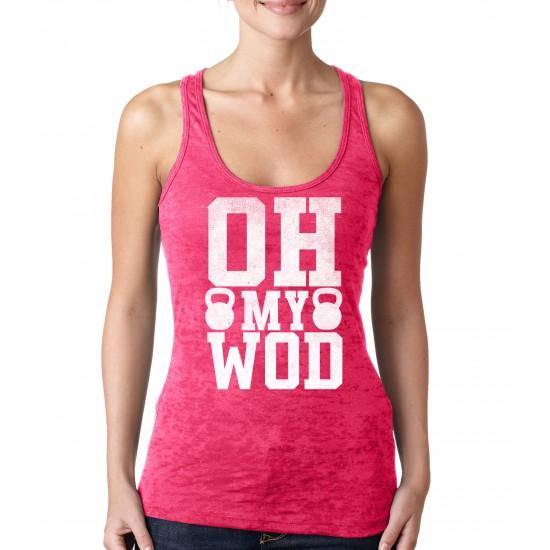 Oh My WOD Burnout Tank Top