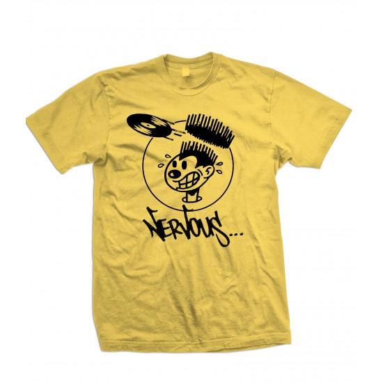 Nervous Records T Shirt