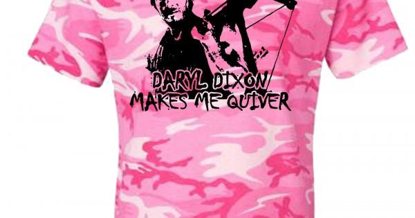 Daryl Dixon Makes Me Quiver Camo T Shirt Za5 Cd205