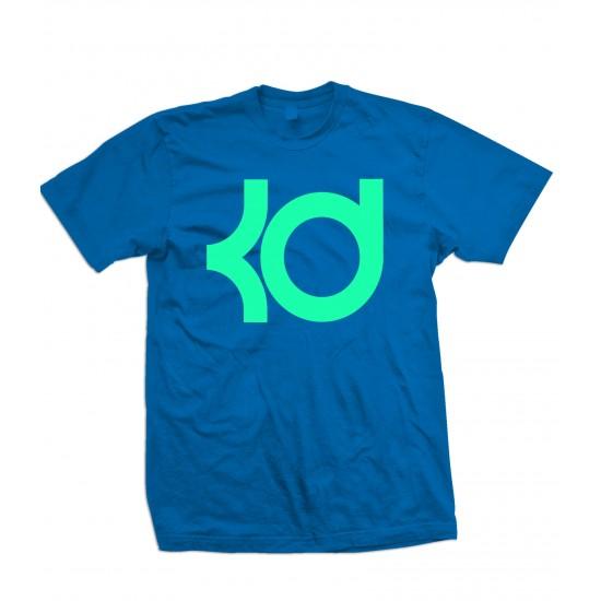 KD T Shirt KD Kevin Durant T Shirt Tiffany - ZA9-JZ210 Explicit Clothing™