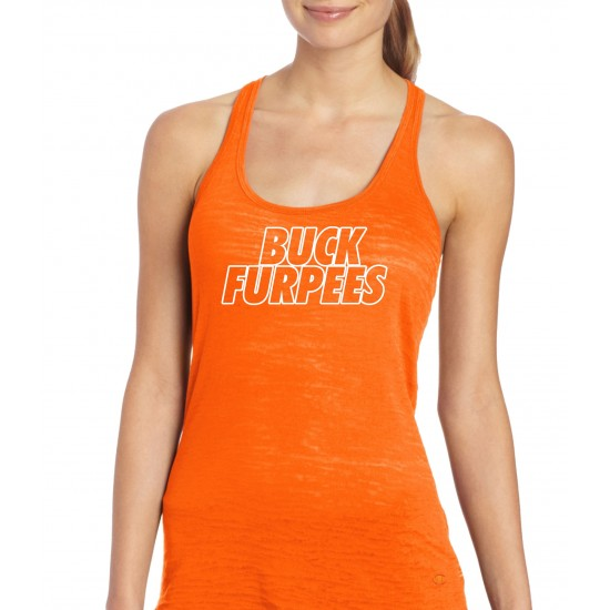 Buck Furpees Burnout Tank Top