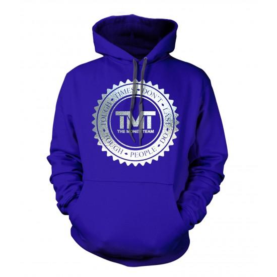 TMT Money Team Emblem Special Edition Silver Foil Hoodie