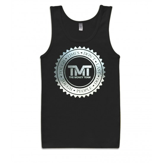 TMT Money Team Emblem Special Edition Silver Foil Tank Top