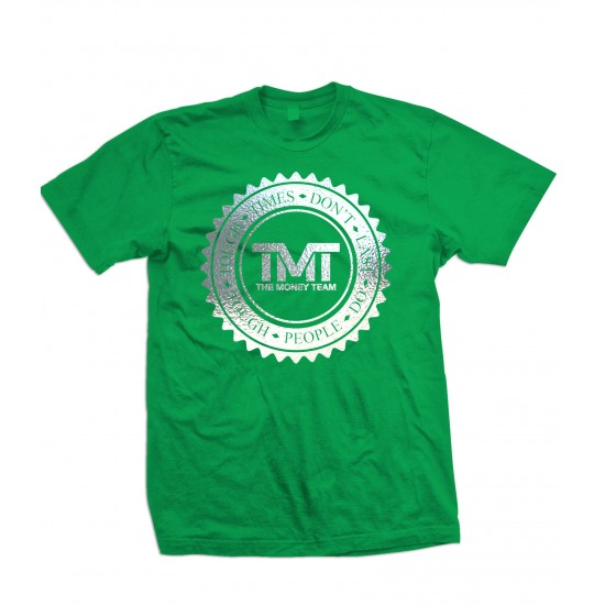 TMT Money Team Emblem Special Edition Silver Foil T Shirt