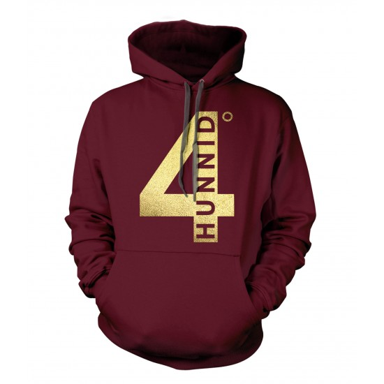 4 Hunnid Gold Foil Youth Hoodie