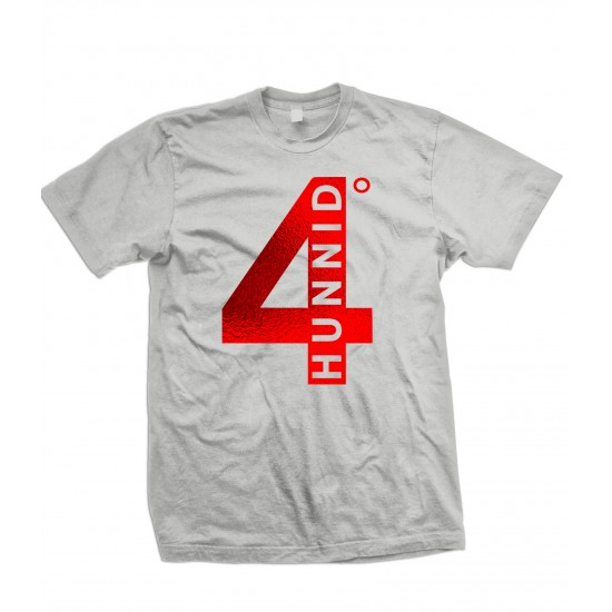 4 Hunnid Red Foil Youth T Shirt