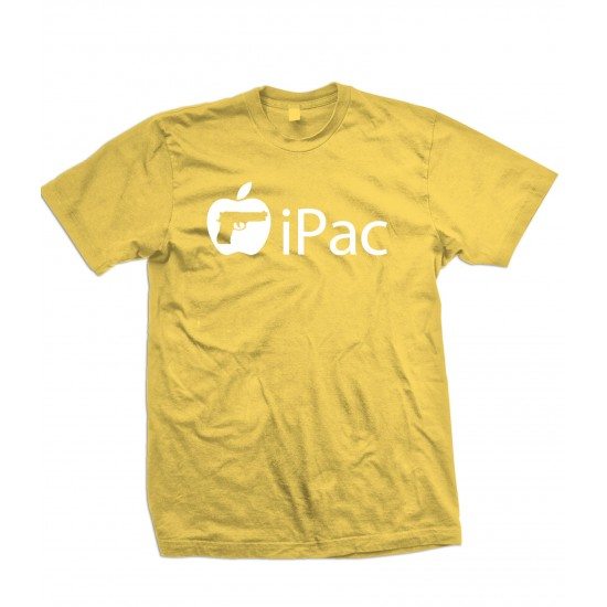 iPac T Shirt Apple Gun Parody