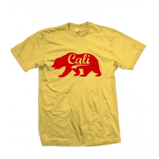 California Grizzly Bear T Shirt