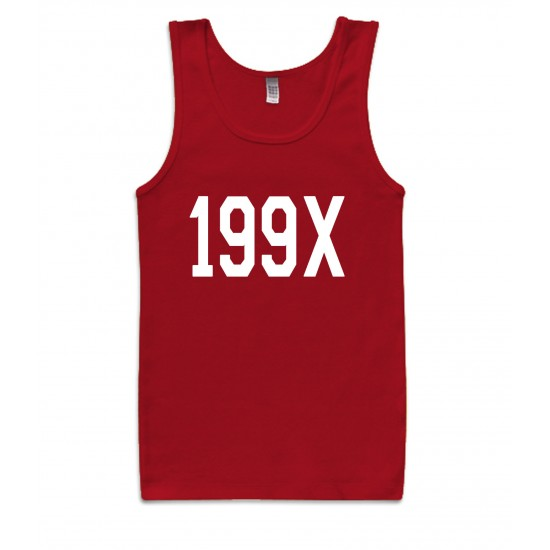199X Nineteen Ninety Never Womens Tank Top