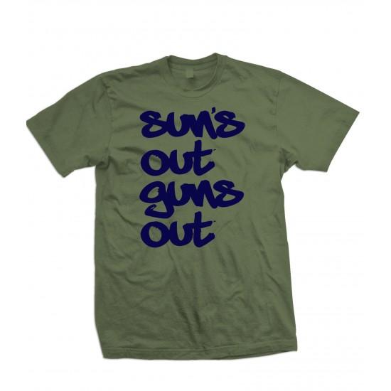 Suns Out Guns Out T Shirt