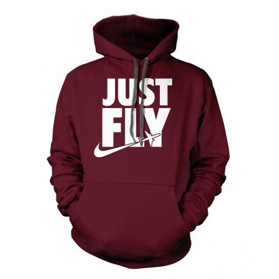 Just Fly Hoodie
