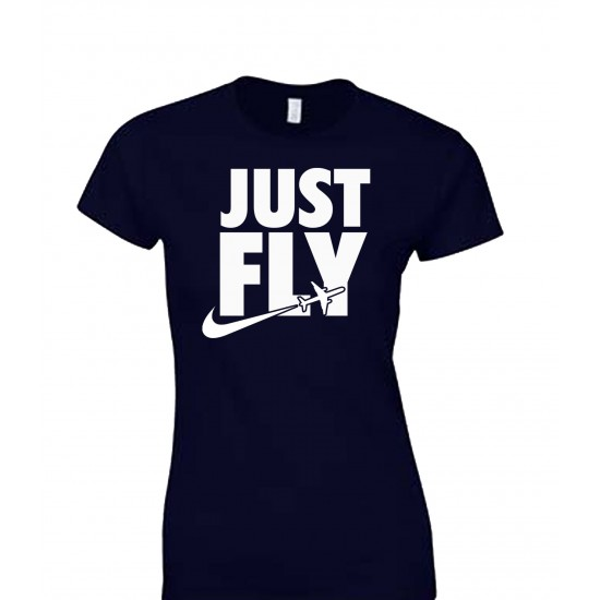 Just Fly Juniors T Shirt