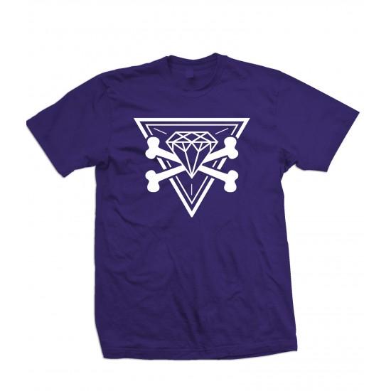 Diamond Cross Bones T Shirt