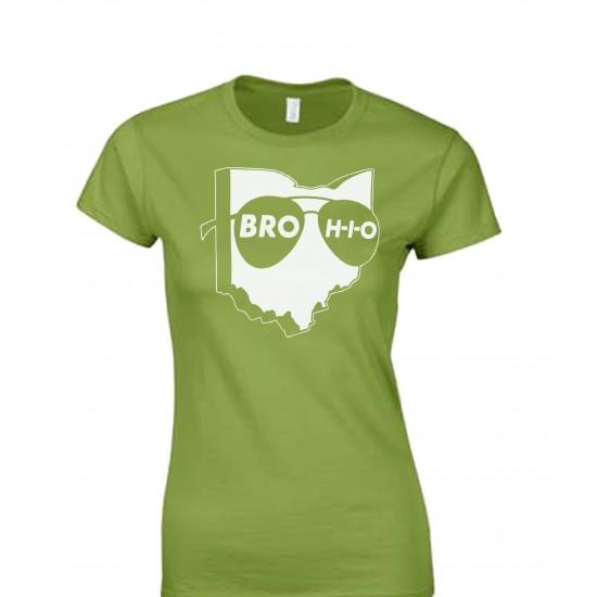 Brohio Logo Juniors T Shirt