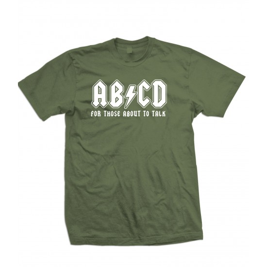 AB/CD For Those About To Talk Youth T Shirt
