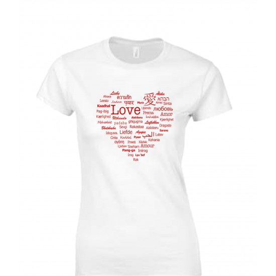 Languages of Love Juniors T Shirt