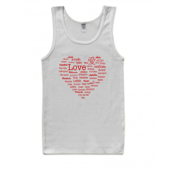 Languages of Love Tank Top