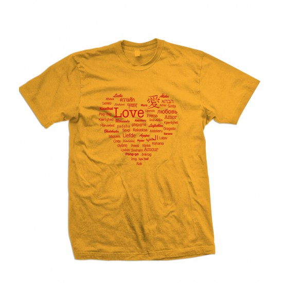 Languages of Love T Shirt
