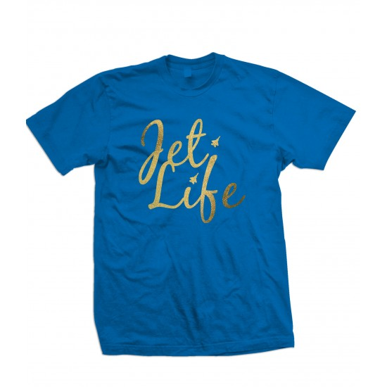 Jet Life Special Edition Gold Foil T Shirt