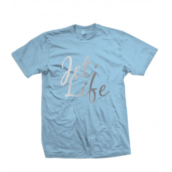 Jet Life Special Edition Silver Foil T Shirt
