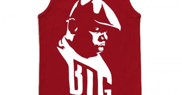 Biggie Smalls est le Illest Drôle Hommes Femmes Débardeur Tank Top Unisexe T Shirt 2241