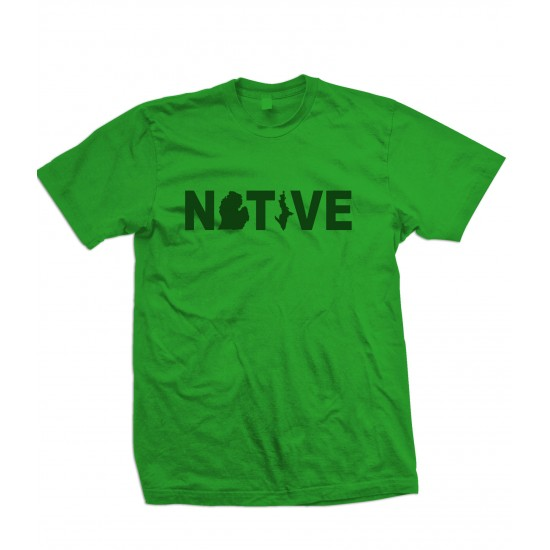 Michigan Native T Shirt