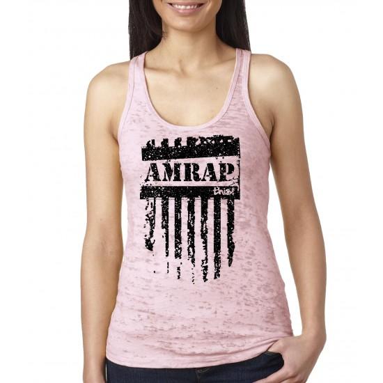 AMRAP This Burnout Tank Top