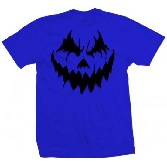 Halloween Pumpkin Face Youth T Shirt