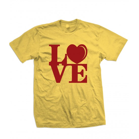 LOVE Block Text T Shirt