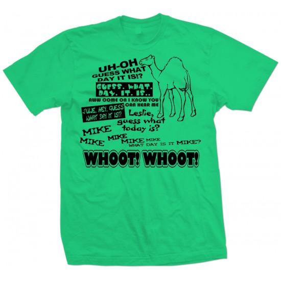 Geico Hump Day Camel T Shirt Black Print