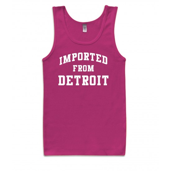 Imported from Detroit Womens Tank Top