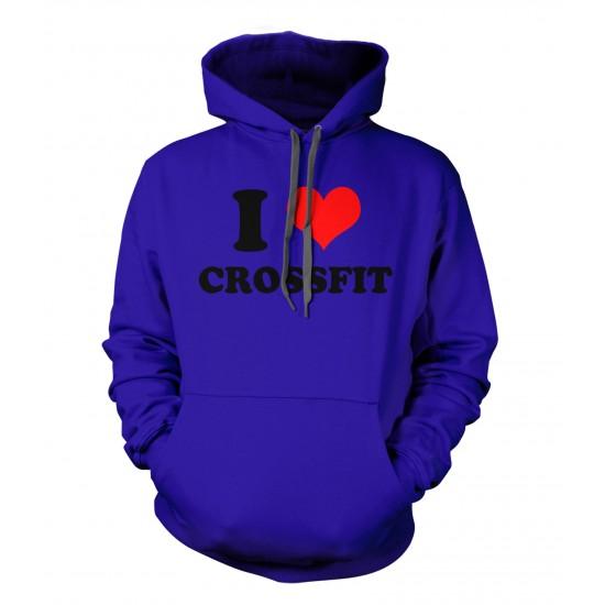I Love Crossfit Ring Spun Hoodie