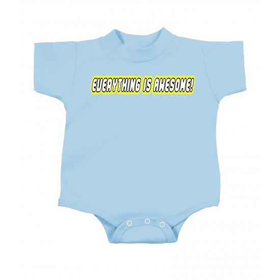Everything Is Awesome Lego Style Onesie