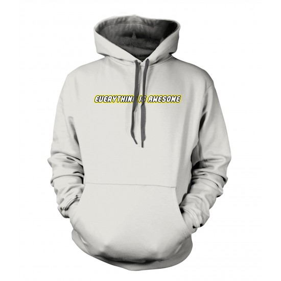 Everything Is Awesome Lego Style Youth Hoodie