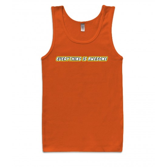 Everything Is Awesome Lego Style Tank Top