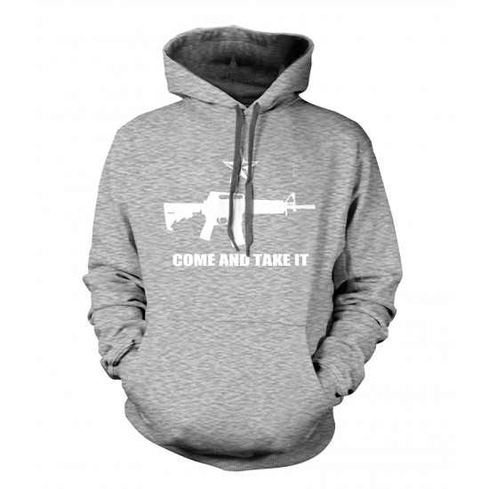 Come and Take It Ring Spun Hoodie