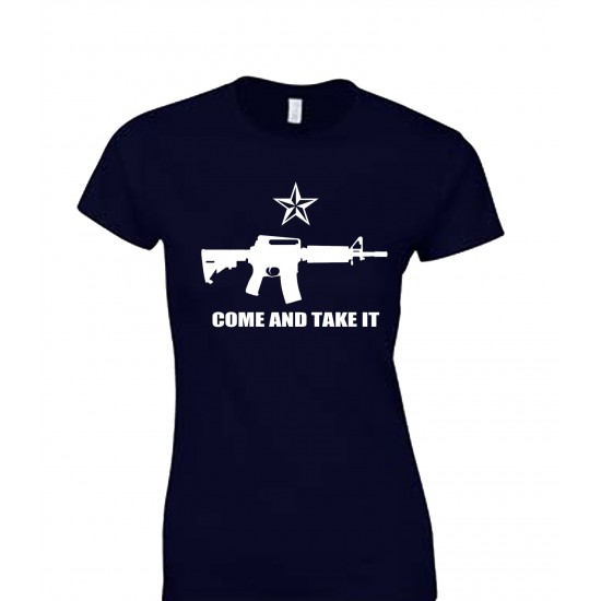 Come and Take it Juniors T Shirt