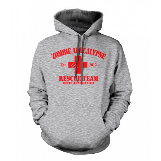Zombie Apocalypse Rescue Team Youth Hoodie