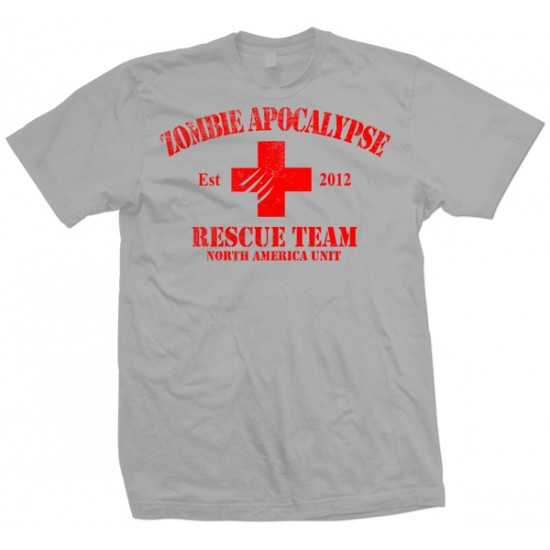 Zombie Apocalypse Rescue Team Youth T Shirt