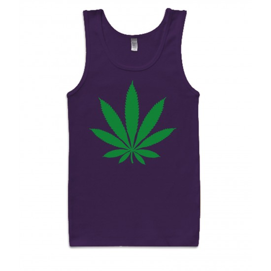 Chronic Leaf Womens Tank Top